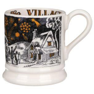 Village Fireworks Half Pint Mug