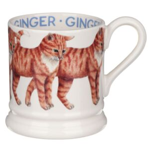 Cats Ginger Cat Half Pint Mug