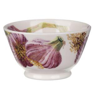 Vegetable Garden Garlic Small Old Bowl