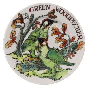 Green Woodpecker 8 1/2 Inch Plate