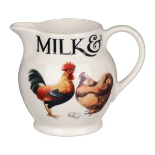 Rise & Shine Milk & Cream 1/2 Pint Jug