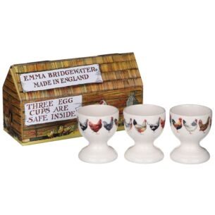 Rise & Shine Boxed Set of 3 Egg Cups