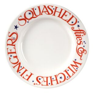 Halloween Toast Witches Fingers 8 1/2 Inch Plate