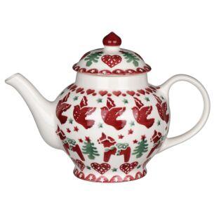 Christmas Joy Two Mug Teapot
