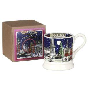 London At Christmas Half Pint Mug Boxed