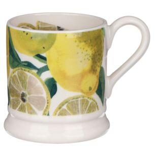 Vegetable Garden Lemons Half Pint Mug