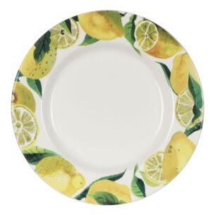 Vegetable Garden Lemons 10 1/2 inch Plate
