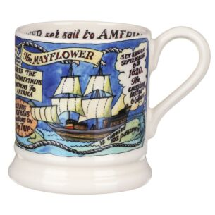 Events The Mayflower 400 Years Half Pint Mug