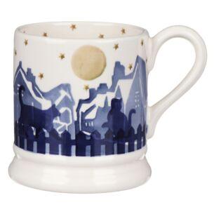 Midnight Cats Half Pint Mug