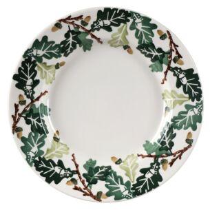 Oak 10 1/2 Inch Plate