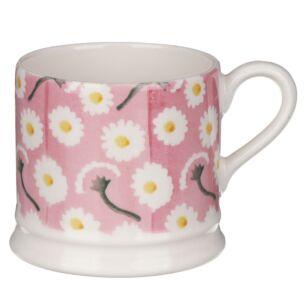 Pink Daisy Small Mug
