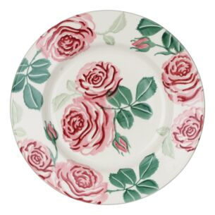 Pink Roses 8 ½ Inch Plate