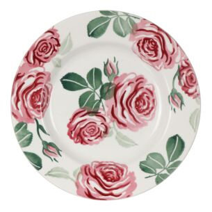 Pink Roses 8 1/2 Inch Plate