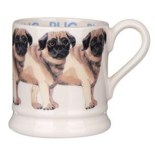 Emma Bridgewater Pug Half Pint Mug