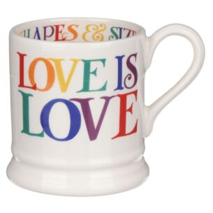 Rainbow Toast Love Is Love Half Pint Mug