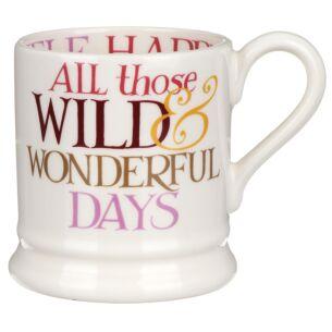 Rainbow Toast Wild & Precious Days Half Pint Mug
