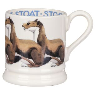 Stoat Half Pint Mug