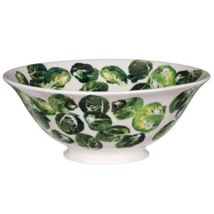 Vegetable Garden Sprouts Medium Serving Bowl