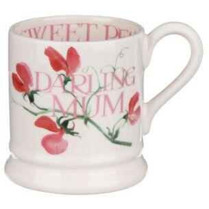Sweet Pea Darling Mum Half Pint Mug