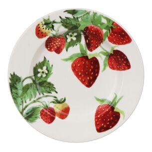 Vegetable Garden Strawberries 6 1/2 Inch Plate