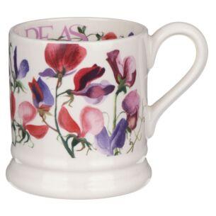 Flowers Sweet Pea Multi Half Pint Mug