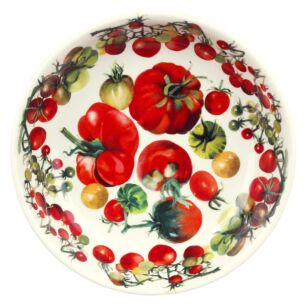 Vegetable Garden Tomato Medium Pasta Bowl