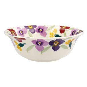 Wallflower Border Cereal Bowl