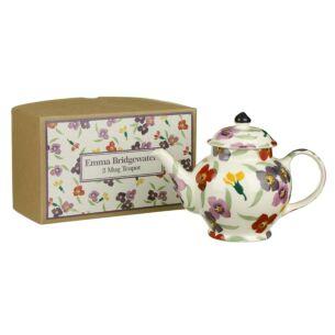 Wallflower Two Mug Boxed Teapot
