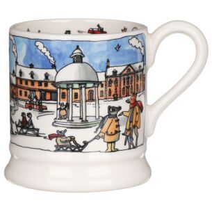 Year In The Country Winter Scene Half Pint Mug