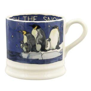 Winter Animals Penguins Small Mug