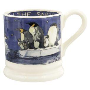Winter Animals Penguins Half Pint Mug