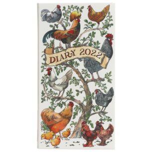 Farmyard Birds 2022 Slim Diary