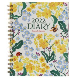 Primrose & Forget Me Not Deluxe 2022 Desk Diary