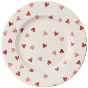 Pink Hearts 10½ inch Plate