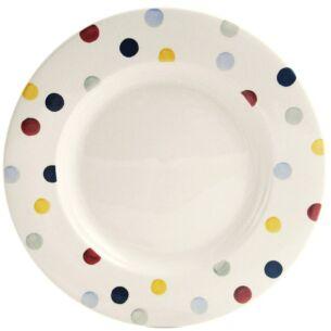 Polka Dot 10 1/2 Inch Plate