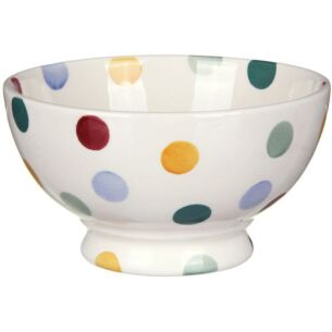 French Bowl in Polka Dot design