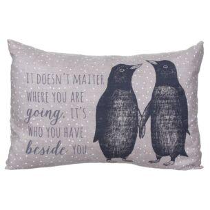 Penguins Long Cushion