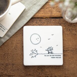 'You Are The Mum' Porcelain Square Coaster