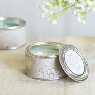 'Those We Love Don't Go Away' Tin Candle