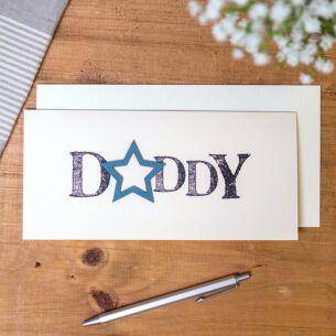 'Daddy' Word Card