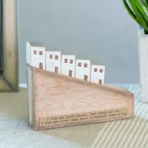 'I Wish You Lived Nearer' Wooden Hill House Scene