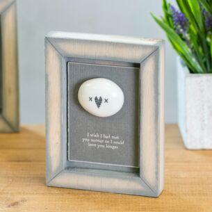 'Hearts & Kisses' Pebble Picture