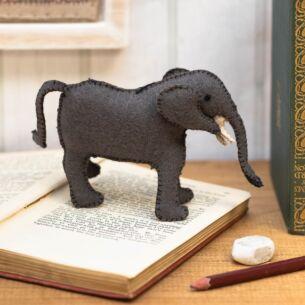 Humphrey Elephant Felt Decoration
