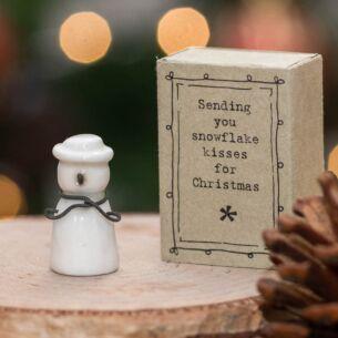 Matchbox Snowman
