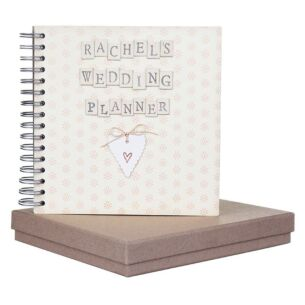Personalised Wedding Planner In A Box