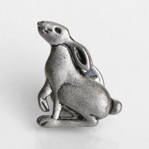 Natural World Rabbit Pin Brooch