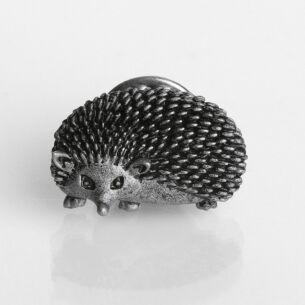 Natural World Hedgehog Pin Brooch
