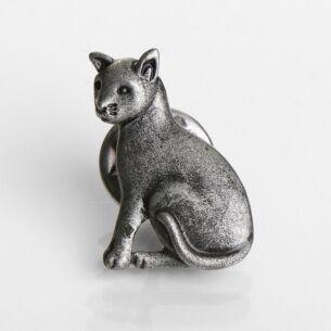Natural World Cat Pin Brooch