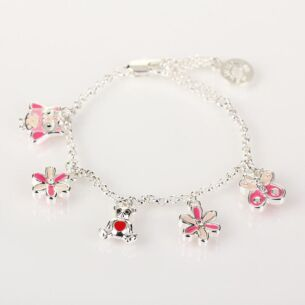 Equilibrium Girls Multi Charm Bracelet