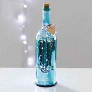 Blue LED Firefly Bottle